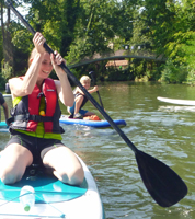 Stand-Up-Paddling Waiblingen Rems